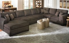 Oversized Sectionals with Chaise
