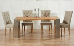 Extending Oak Dining Tables and Chairs