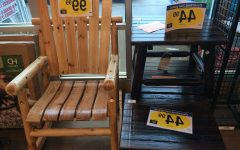 Rocking Chairs at Kroger