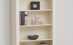 Painted Oak Bookcases