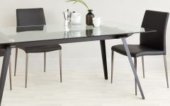 Dining Tables Black Glass