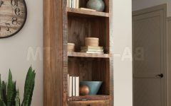 Distressed Wood Bookcases