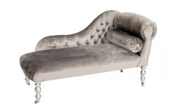 Velvet Chaise Lounge Chairs