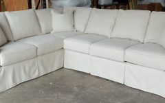 Slipcovered Sofas With Chaise