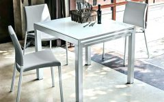 Square Extendable Dining Tables and Chairs