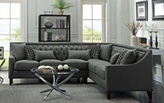 Tufted Sectional Sofas