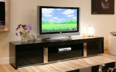 Large Black Tv Unit