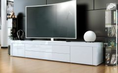 Modern White Gloss Tv Stands