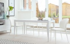 White 8 Seater Dining Tables