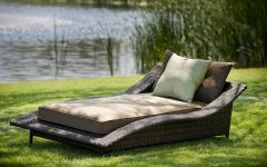 Double Chaise Lounge Outdoor Chairs