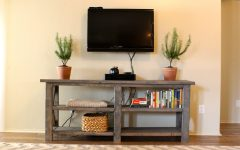 Console Tables Under Wall Mounted Tv