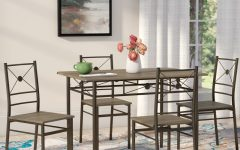 Kieffer 5 Piece Dining Sets