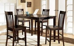 Hyland 5 Piece Counter Sets with Stools