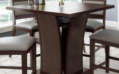 Bushrah Counter Height Pedestal Dining Tables