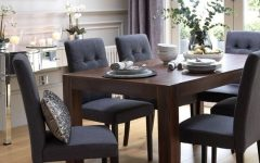 Dark Wood Dining Room Furniture