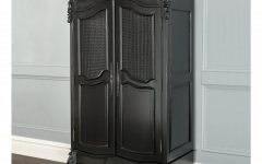 Black French Style Wardrobes