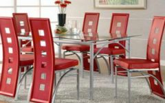 Red Dining Table Sets