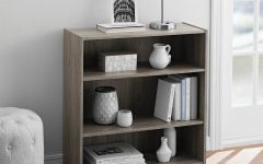 Mainstays 3 Shelf Bookcases