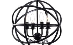 Metal Sphere Chandelier