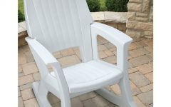 Outdoor Vinyl Rocking Chairs