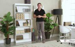 South Shore Axess Collection 5 Shelf Bookcases