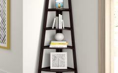 Tisha Corner Bookcases