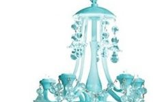 Turquoise Locker Chandeliers