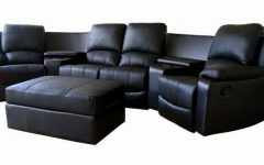 Curved Recliner Sofas