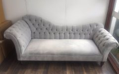 Grey Chaise Lounges