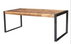 Mango Wood/iron Dining Tables