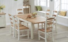 Oak Extending Dining Tables Sets