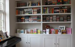 Bookcases with Cupboard Under