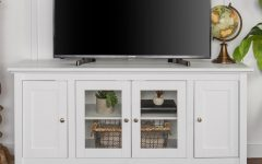 White and Wood Tv Stands