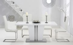 White High Gloss Dining Tables
