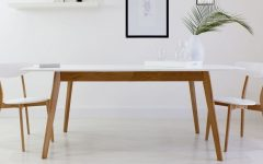White Melamine Dining Tables