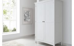 White Wood Wardrobes
