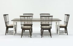 Candice Ii 6 Piece Extension Rectangle Dining Sets