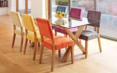 Colourful Dining Tables And Chairs