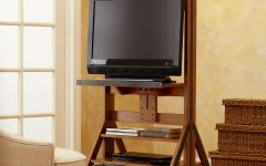 Easel Tv Stands for Flat Screens
