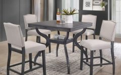 Jameson Grey 5 Piece Counter Sets