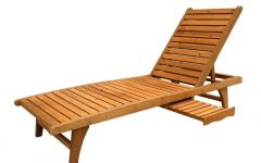 Wood Chaise Lounges